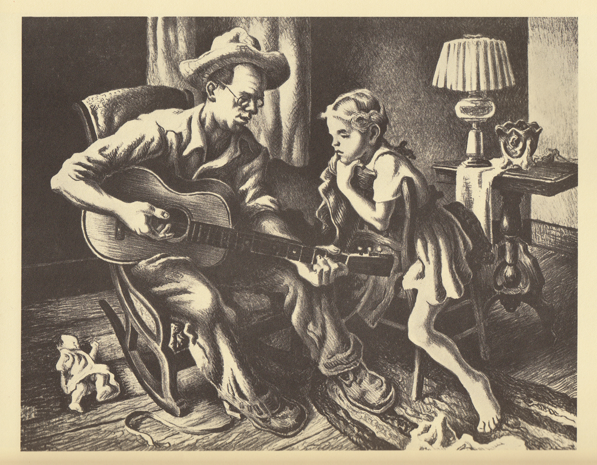 Thomas Hart Benton_Granary Gallery_artifactsmv_marthas vineyard_music.JPG