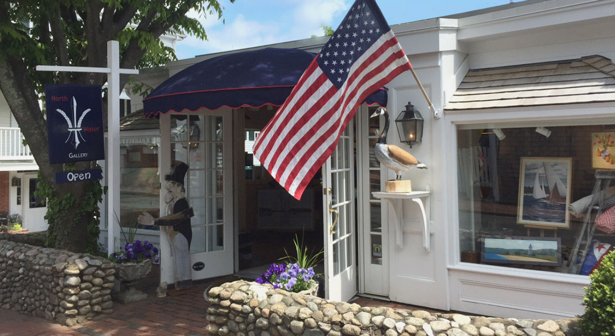 North Water Gallery open for business in Edgartown.