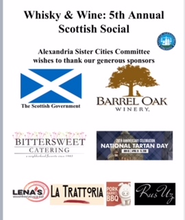 Whisky & Wine: 5th Annual Scottish Social March 9th 2018