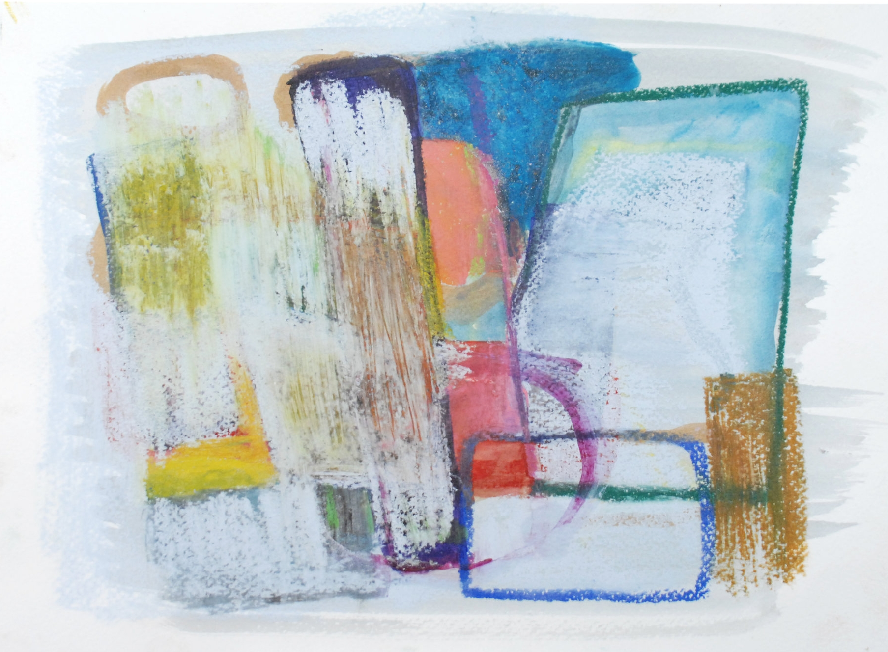 Change - the Only Certainty - Mixed Media on Paper   29.5cm x 21cm   2012