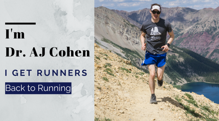 Dr. AJ Cohen get runners back to running