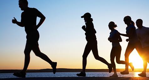 social running group run