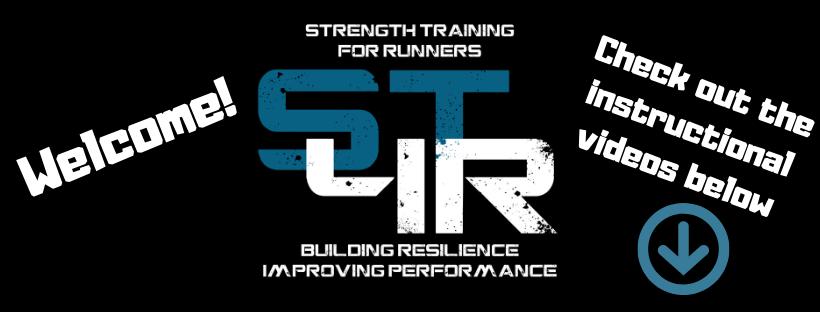 Strength Training for Runners banner