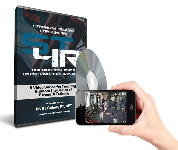 Strength training for runners dvd cover