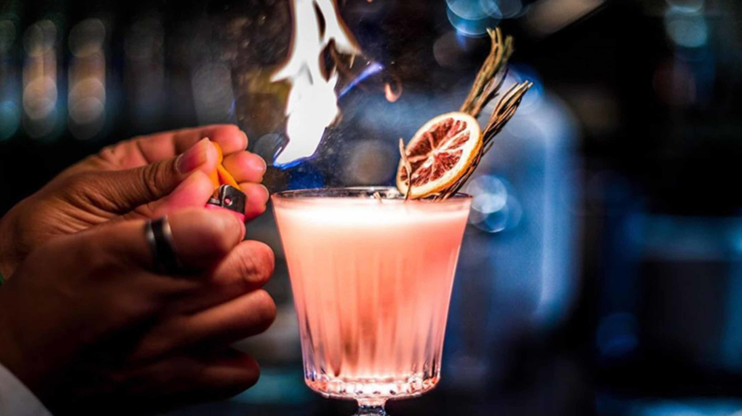 "….""their own little fantasy drinks""..""AUTHENTIEKE COCKTAILS""…. -"