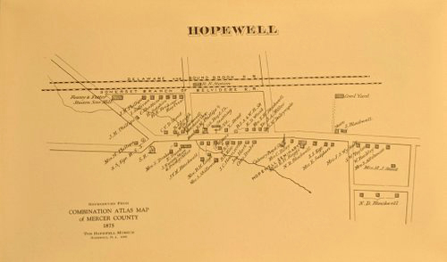 Map of Hopewell  (small)  $2