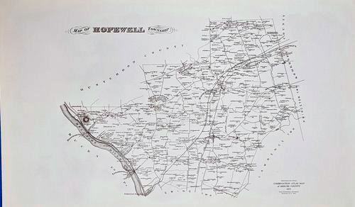 Map of Hopewell Township   $5