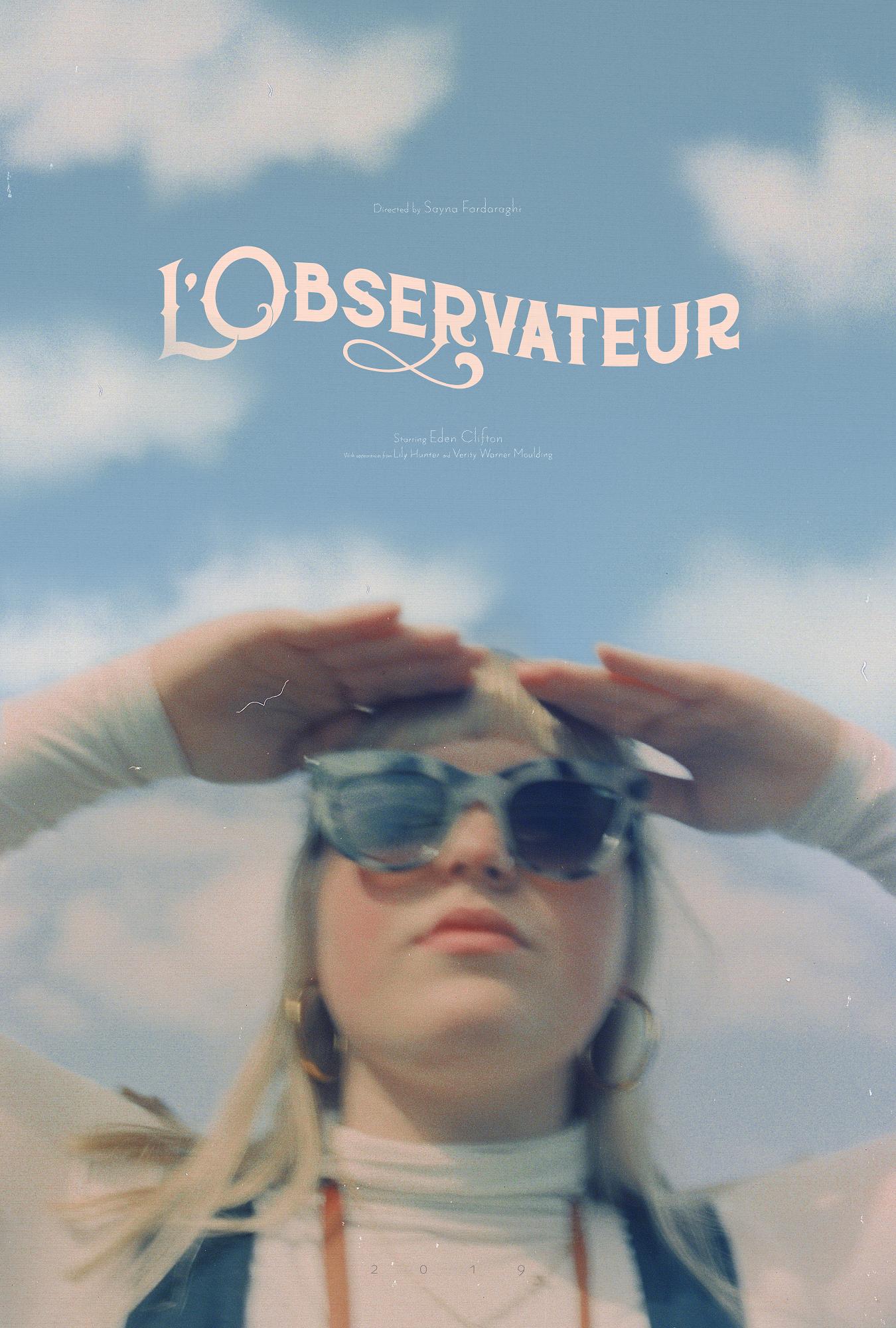 L'Observateur Original Poster Design