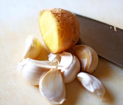 Beef Soboro: Ginger and Garlic
