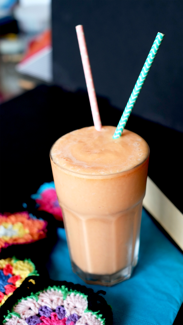 Papaya Milk Smoothie