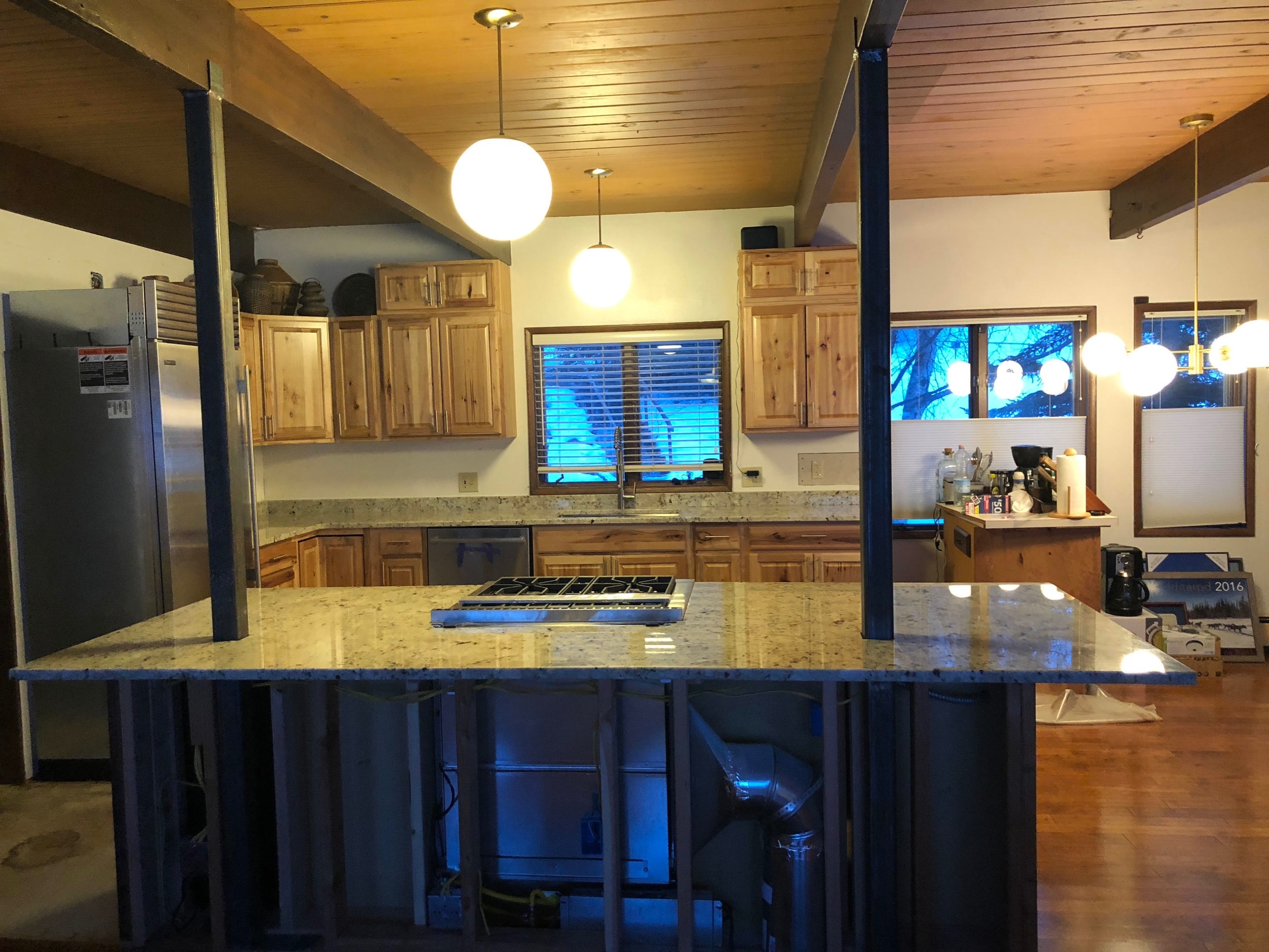 Campbell Lake Kitchen January 2019