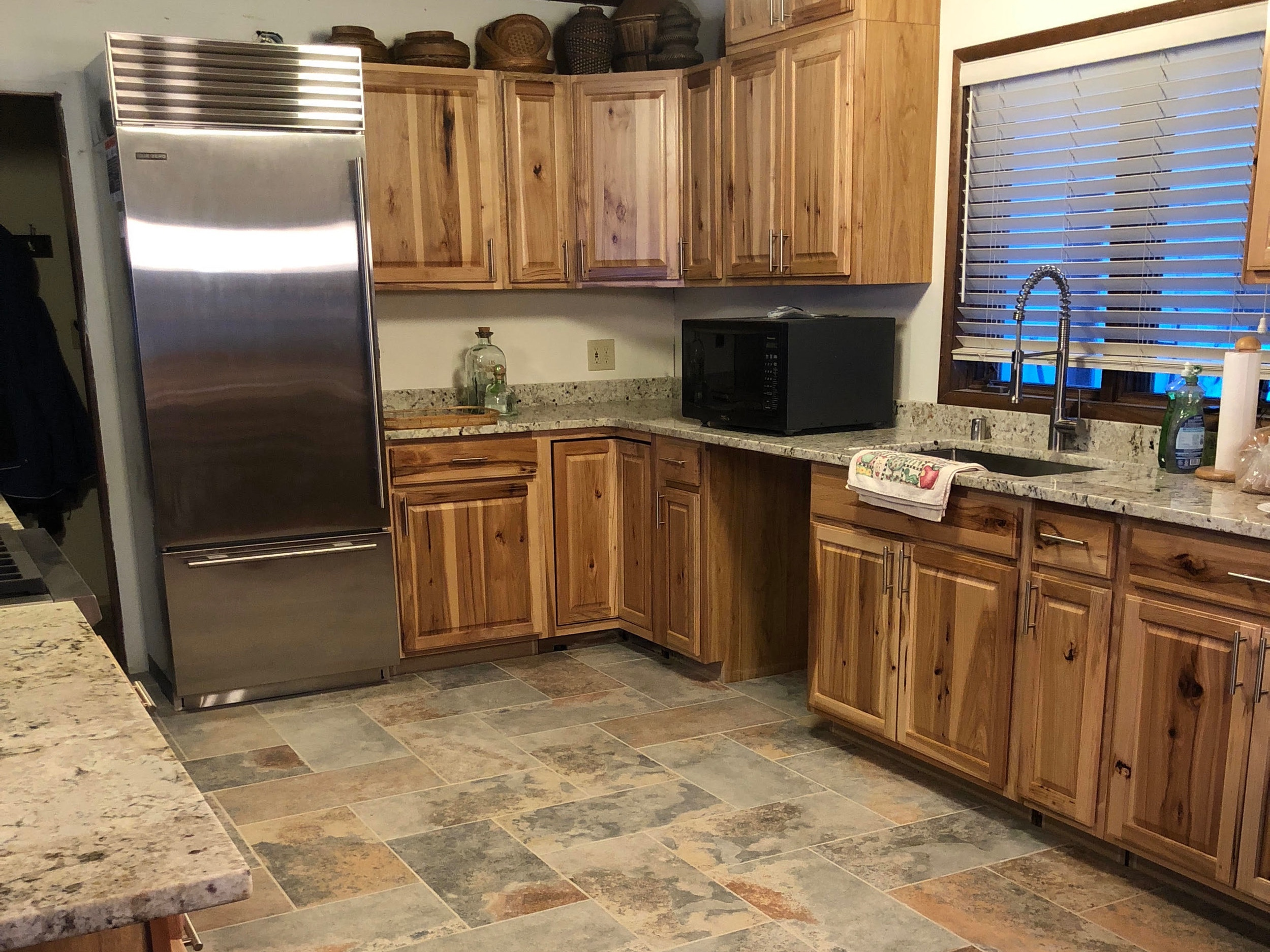 Campbell Lake Kitchen February 2019