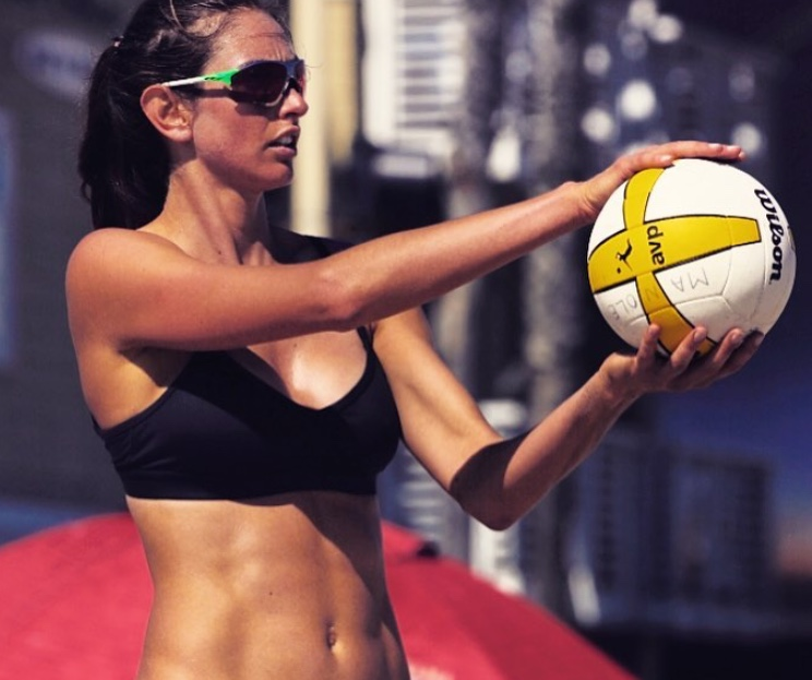 Jessica Sykora Beach Volleyball