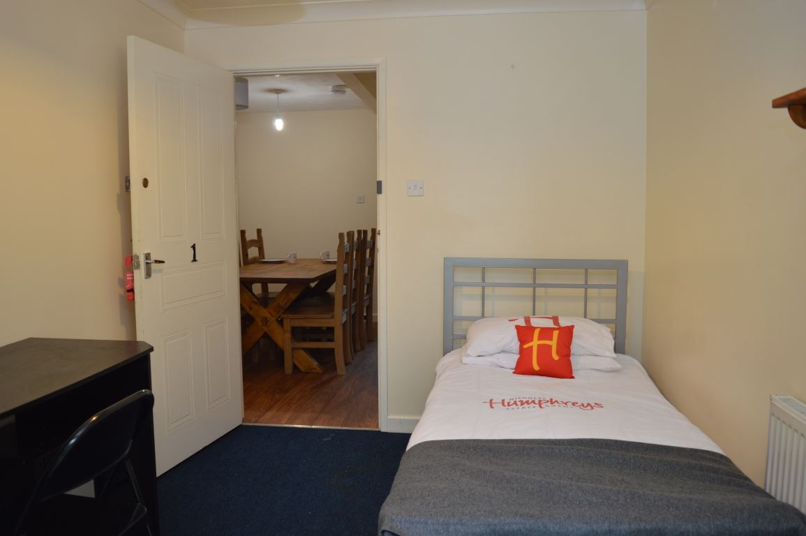 Student bedroom in Nicholas Mews Norwich