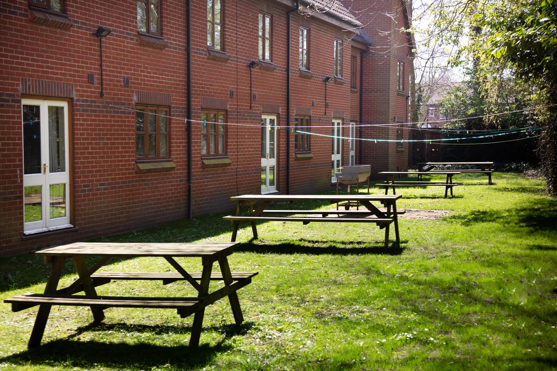 Nicholas Mews back garden