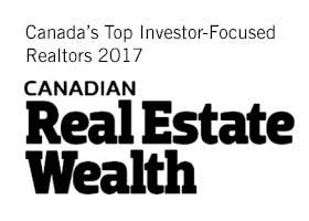 Canada's Top Investor-Focuses Realtors 2017 - Canadian Real Estate Wealth logo