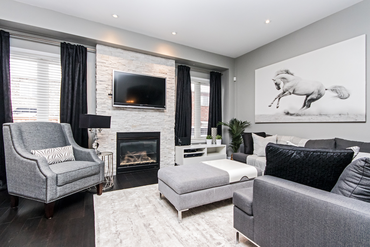 3344 Moses Way - Living Room & Seating Area - Alternative Angle