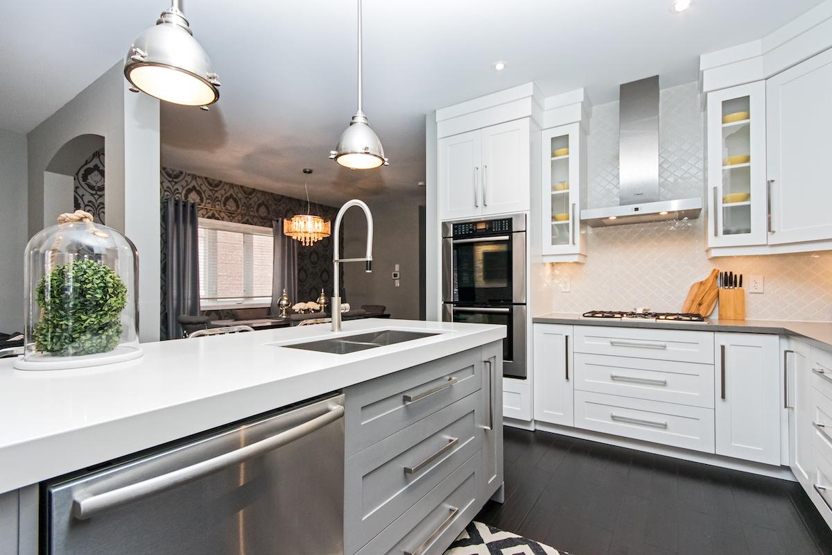 3344 Moses Way - Kitchen Island with Dishwasher