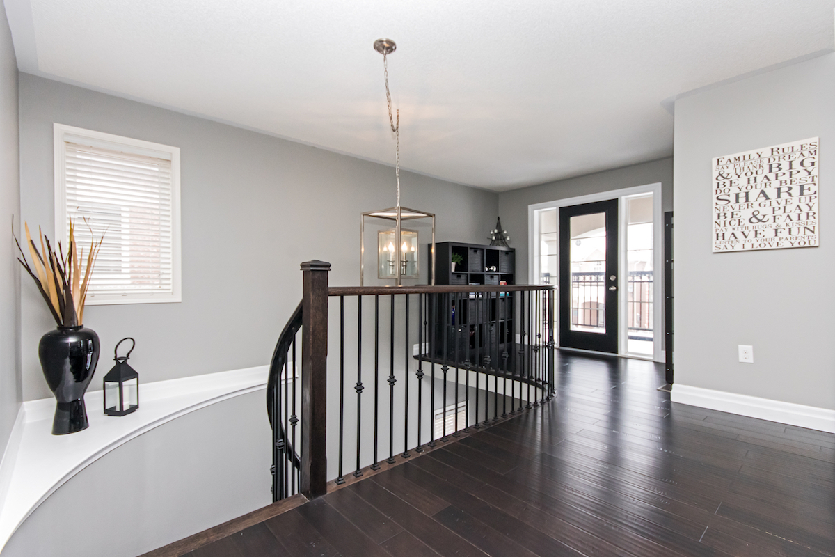 3344 Moses Way - Top of Large Wood Staircase