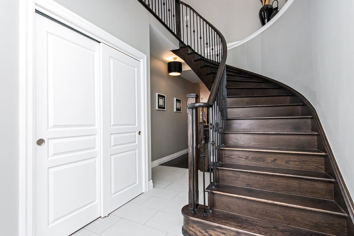 3344 Moses Way - Large Wood Staircase