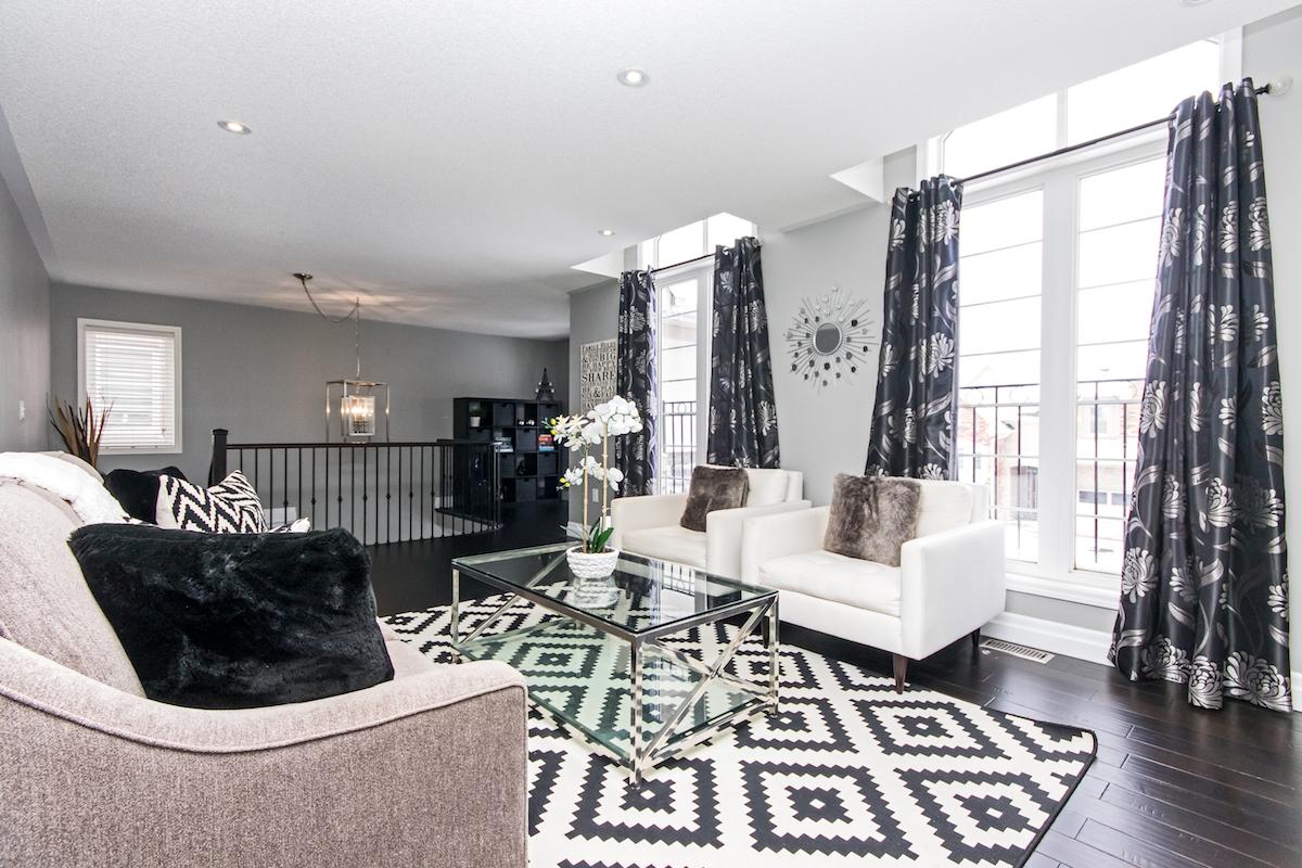 3344 Moses Way - Top Floor Living Room