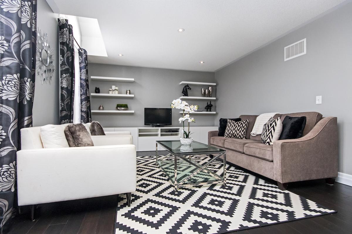 3344 Moses Way - Top Floor Living Room - Alternative Angle