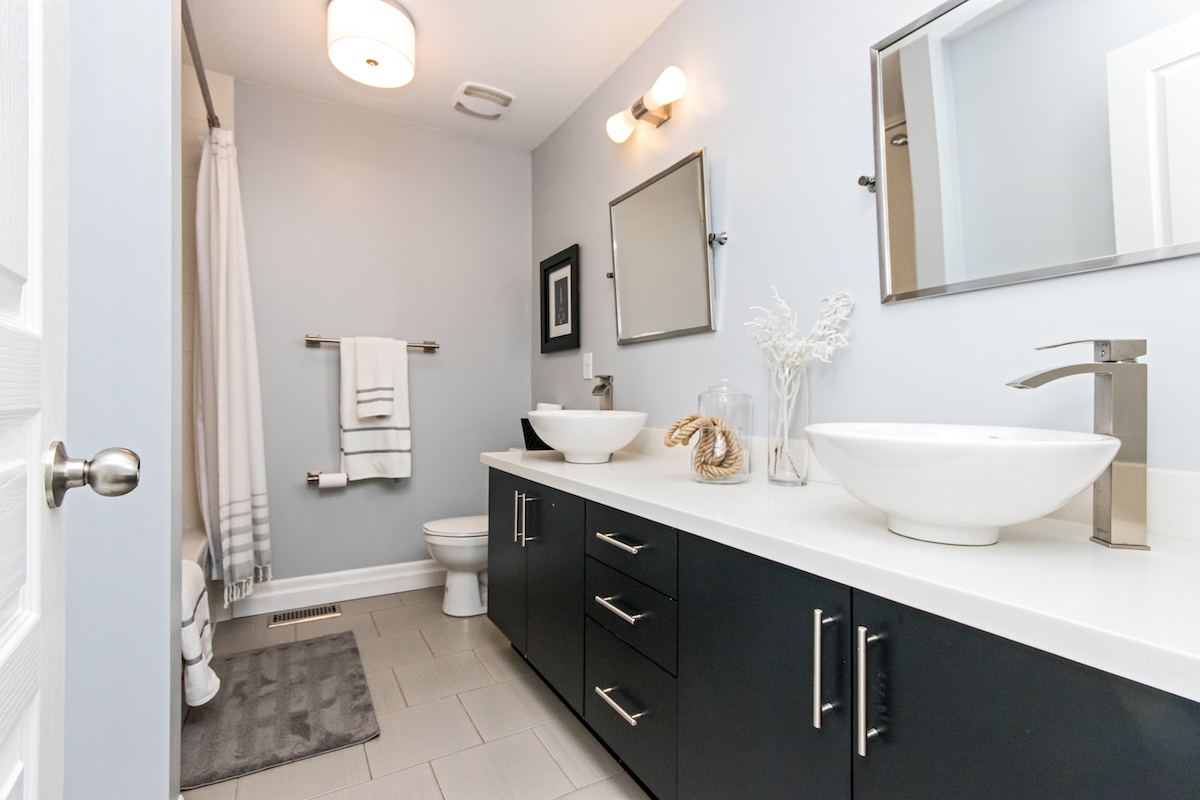 3344 Moses Way - Bathroom with Double Sinks