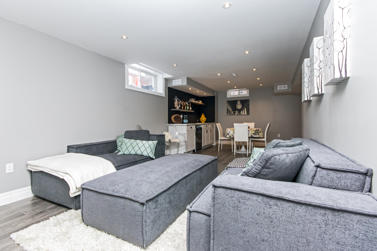 3344 Moses Way - Basement Living Room