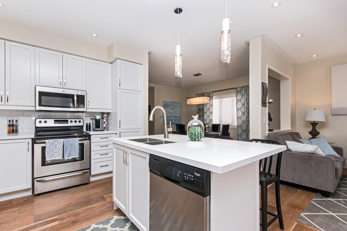 3346 Moses Way - Large kitchen with dishwasher built into the island