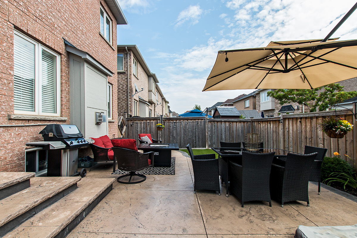 3346 Moses Way - Tiled patio with view of outdoor furniture