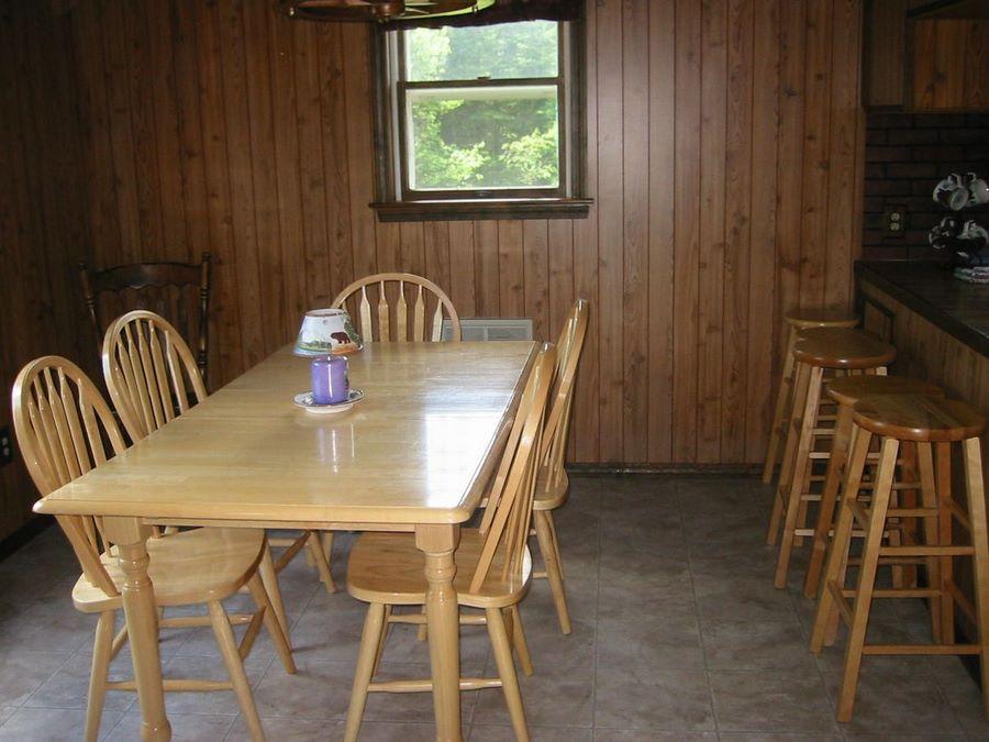 Brookside Dining Area
