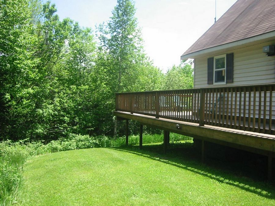 Deck View From Brookside