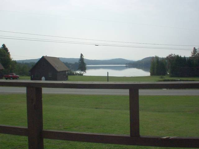 View From Porch To Lake