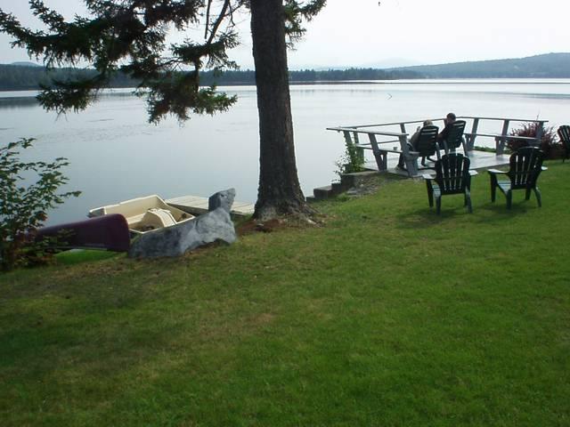 Relaxation On Back Lake
