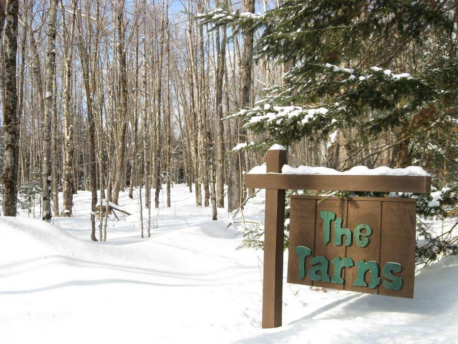 The Tarns Entrance Sign