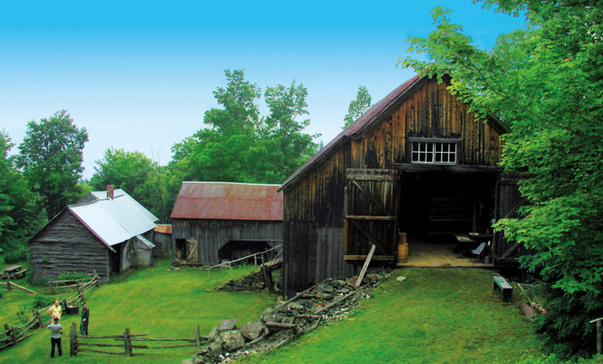 Poore Homestead on Route 145