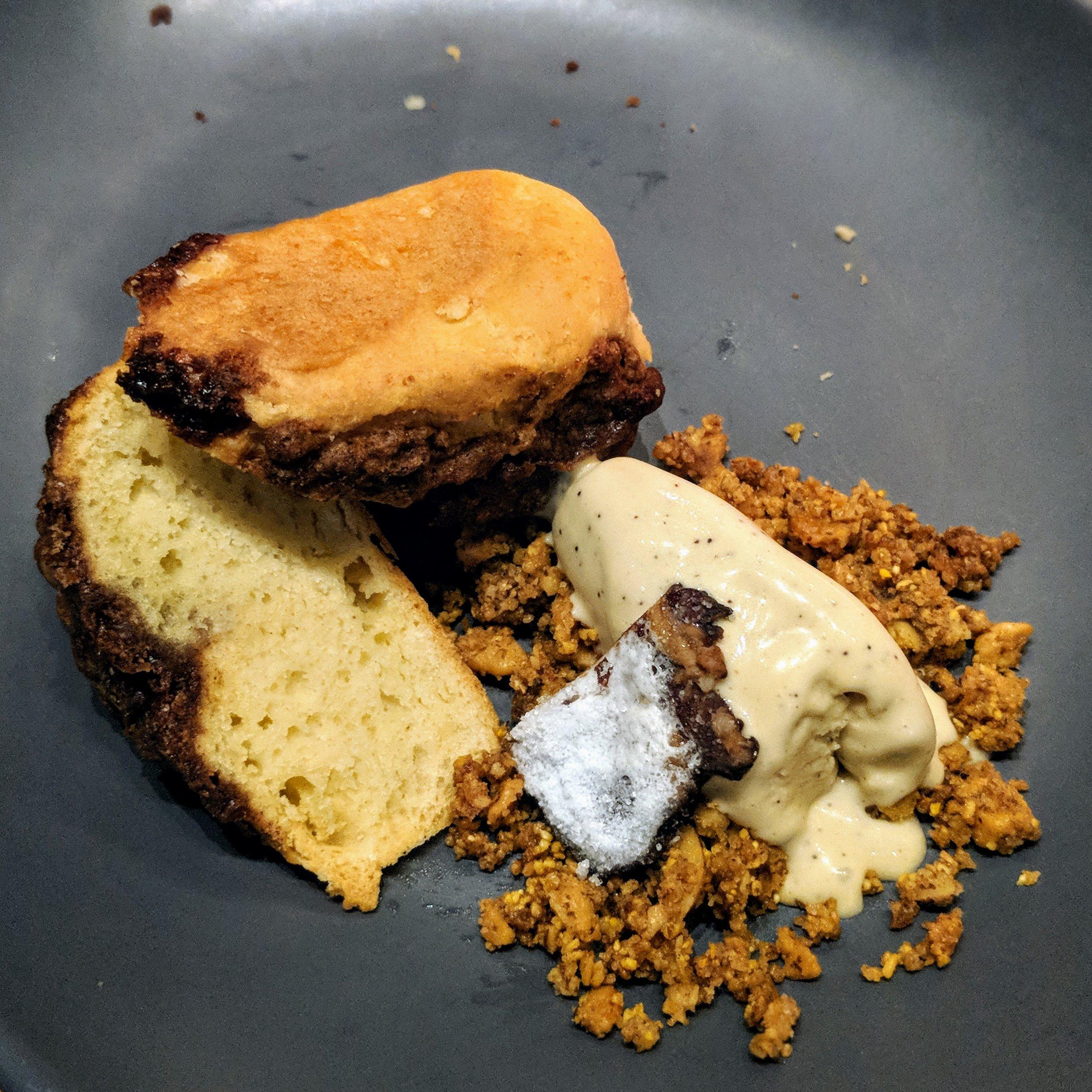 Maple Chevre Coffeecake