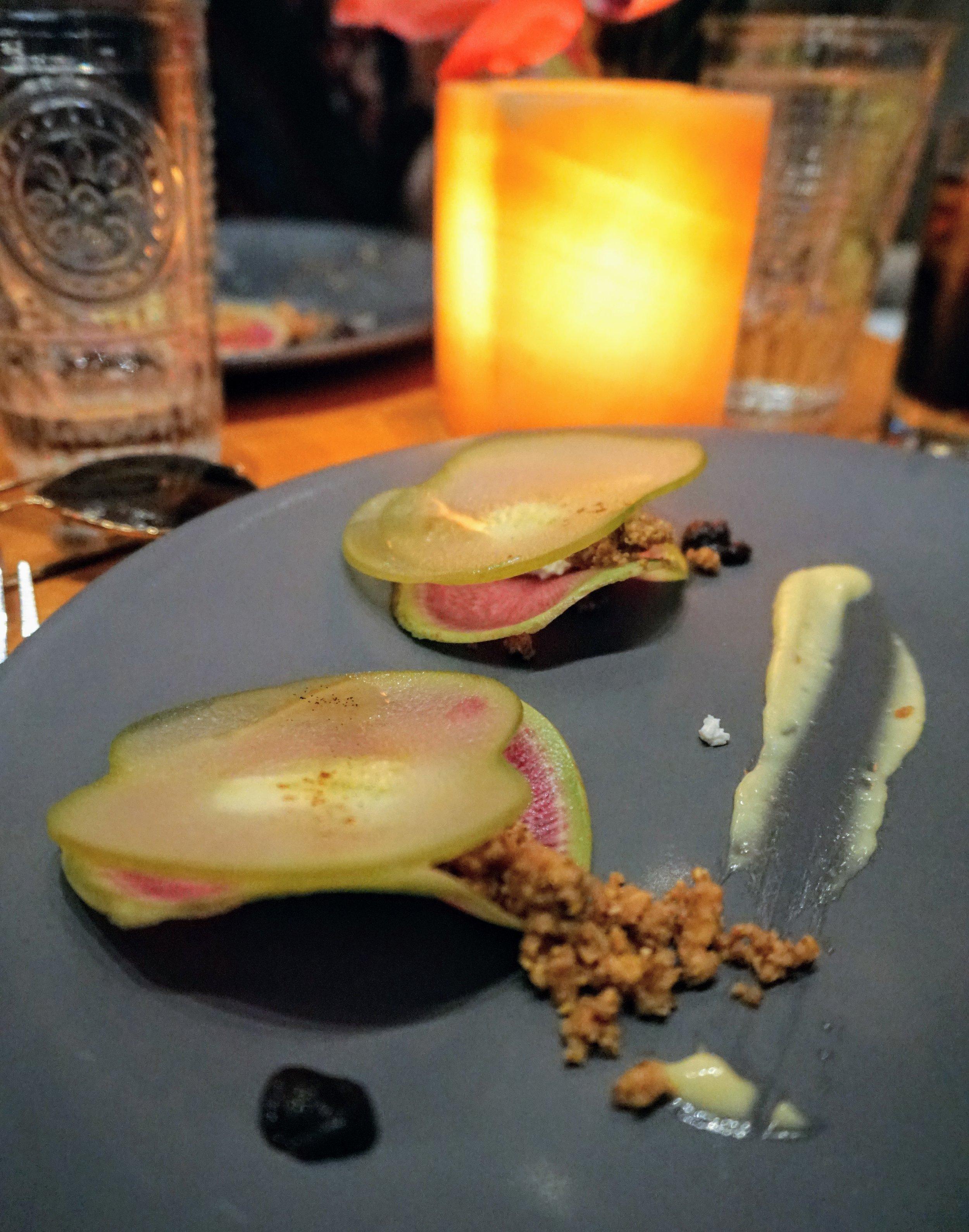 Watermelon Radish 'Ravioli'