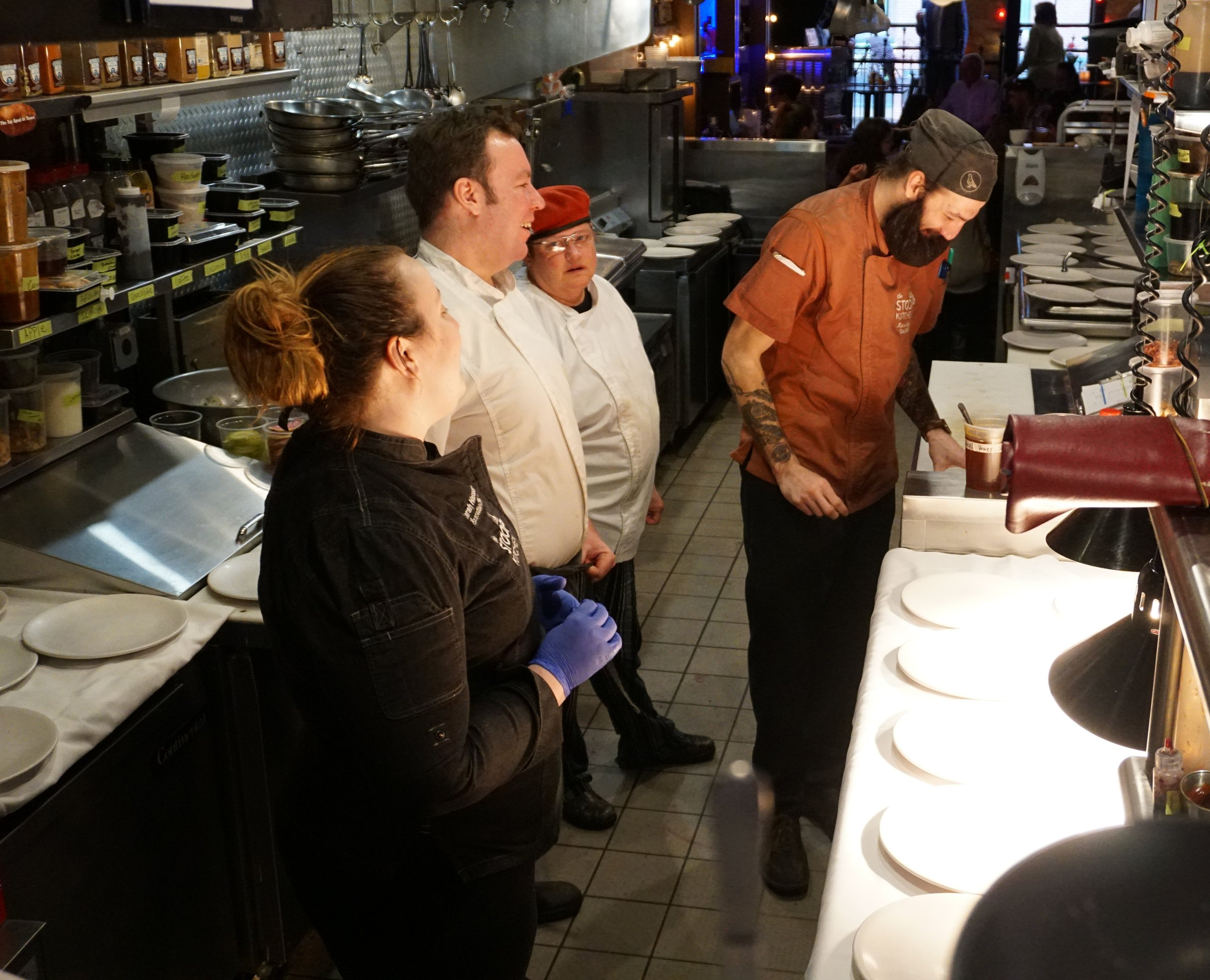 Sarah Hassler and The Stoop Kitchen Team