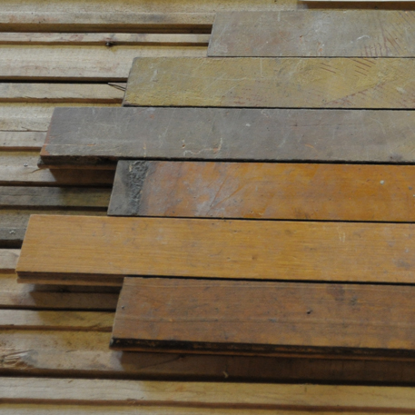 "MAPLE STRIP FLOORING  First Grade | 3/4"" x 2""   c.  1920's 
