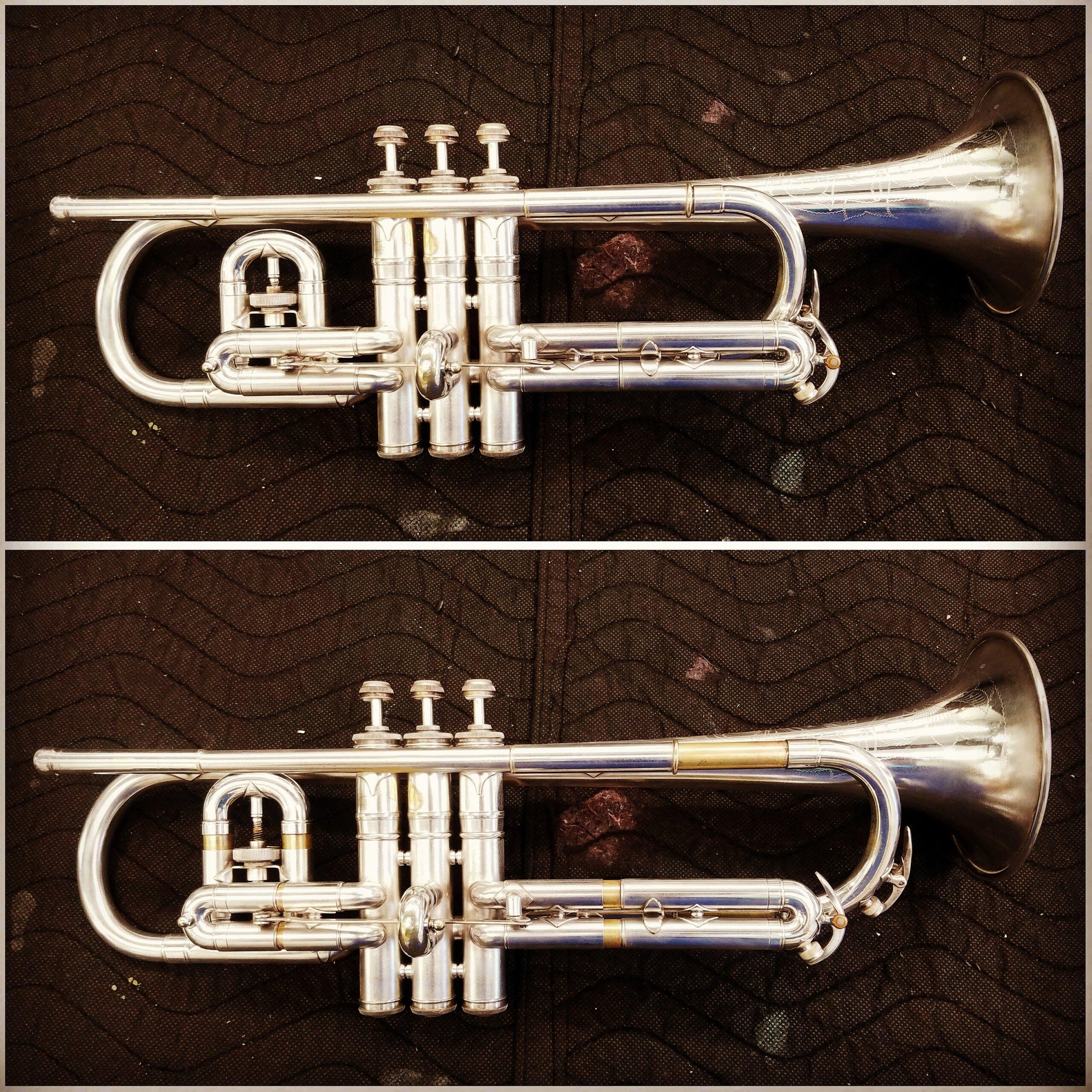 Trumpet after