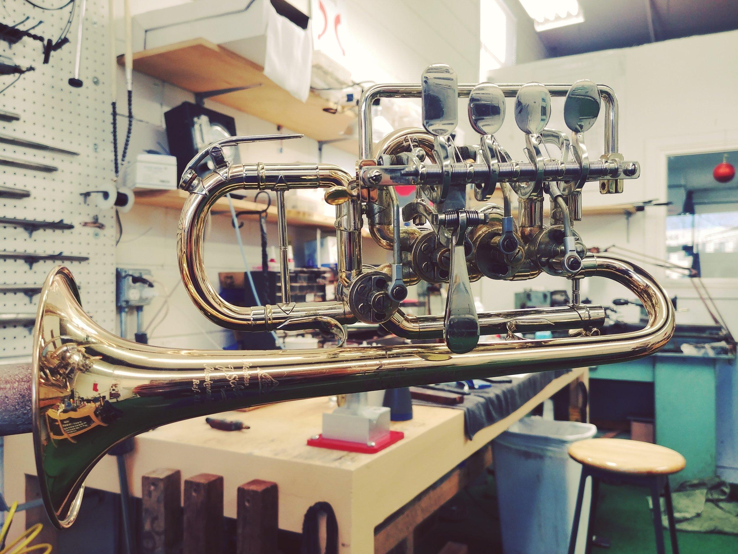 Rotary Piccolo Trumpet