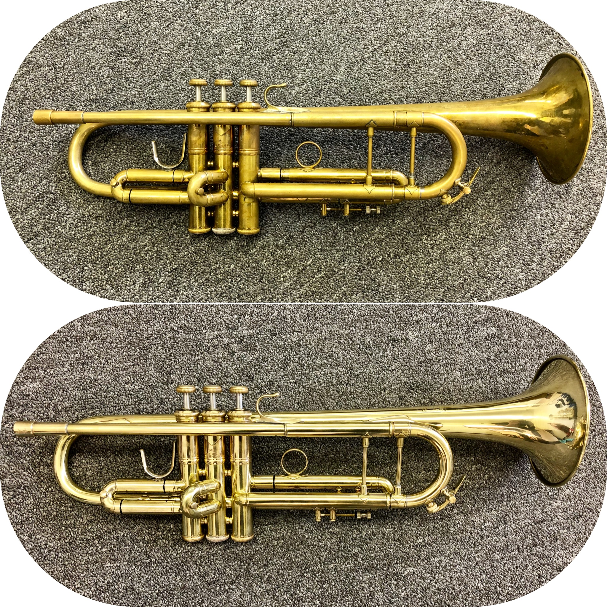 Before and After Trumpet