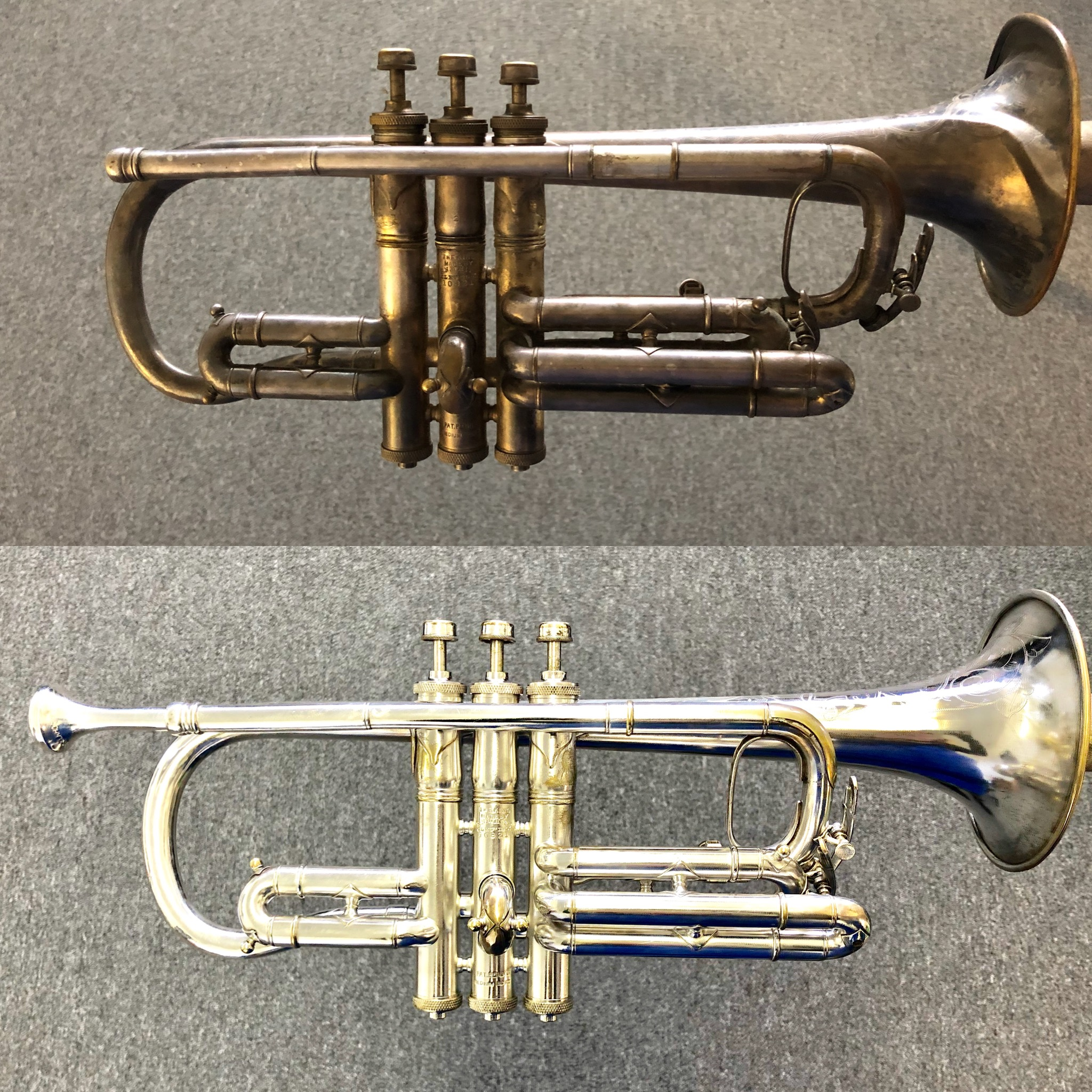 Before and After Cornet