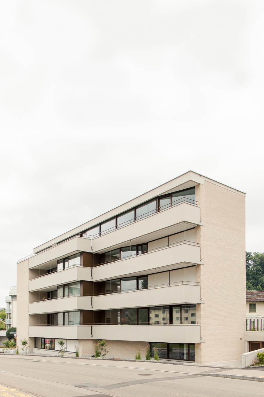 Mehrfamilienhaus Jona, 2018