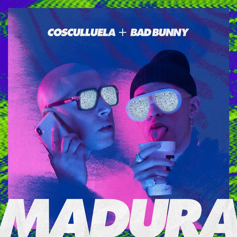COSCULLUELA X BAD BUNNY  COVER DESIGN
