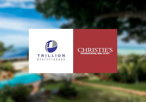 TRILLION/CHRISTIES   /  REAL ESTATE BRAND IDENTITY