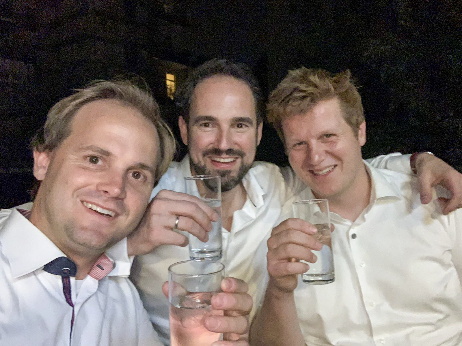 Orgateam: Fabian, Axel & Andreas