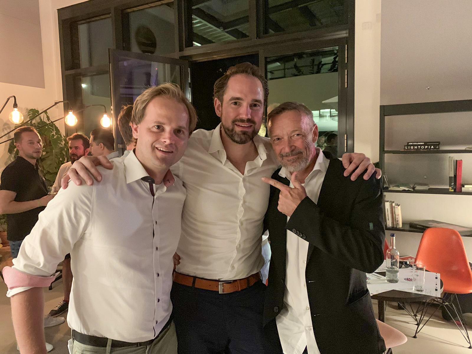 Fabian, Axel & Michael Roll