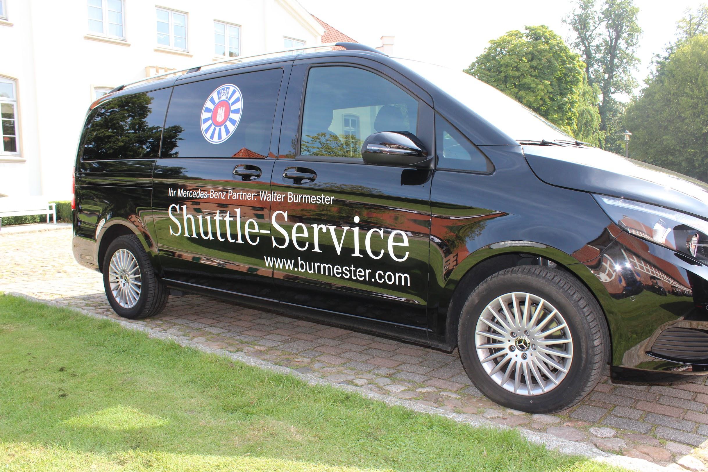 Shuttle für die Gäste